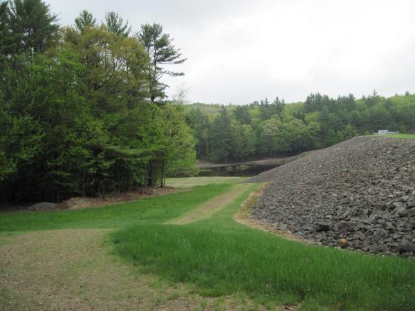 Backside of Blackwater Dam