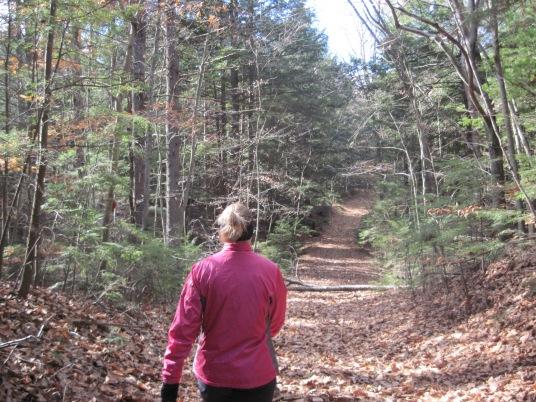 West End Farm Trail with Mia - November