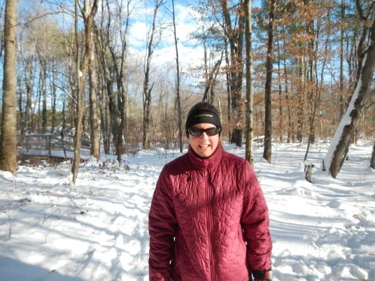 Mia on the Jim Hill Riverwalk