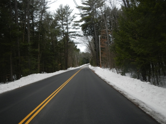 March riding in NH