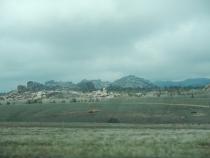 Eastern Wyoming did offer some more landscape than Nebraska