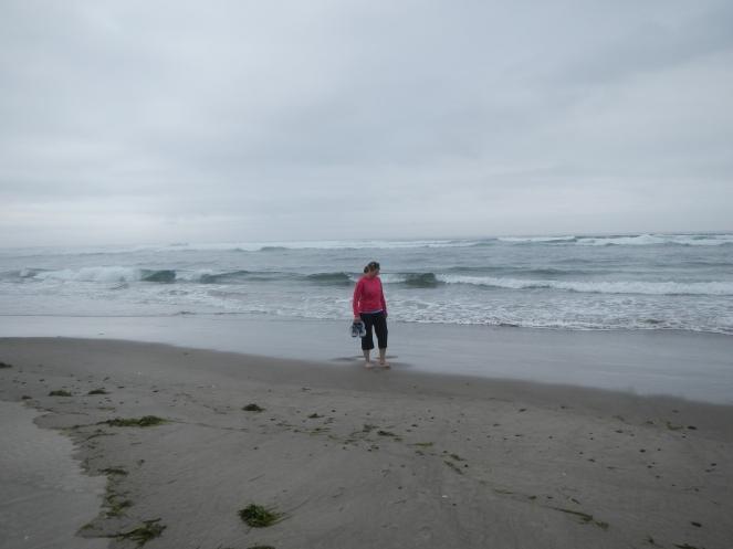 Mia + beach = Happy Girl