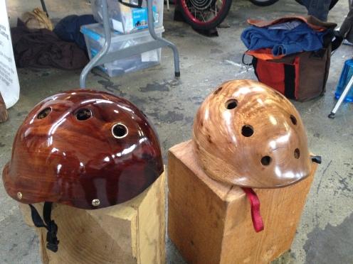Coyle Wooden Helmets